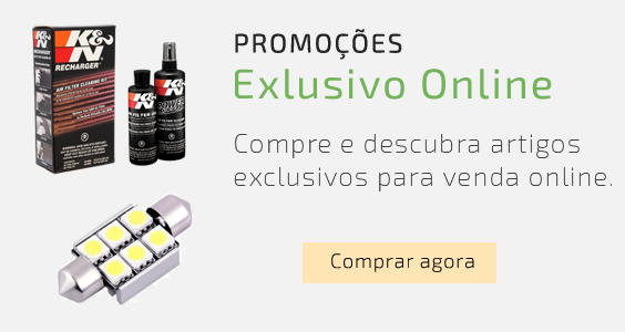 Promoções exclusivas online